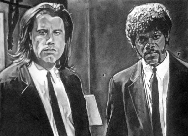 Samuel L. Jackson, John Travolta par kasparov42